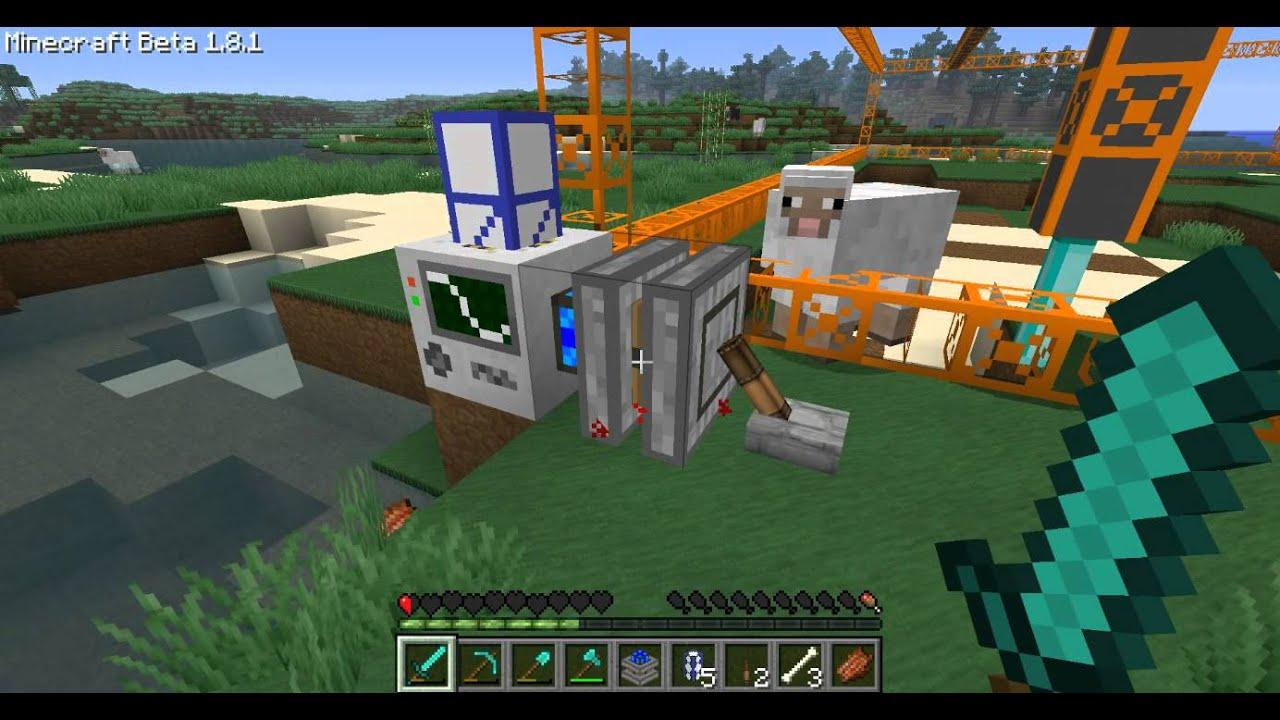 Minecraft power teleport pipe crash