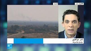 الجيش المصري في حالة تأهب قصوى في سيناء     -
