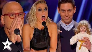 Judge Gets POSSESSED By Haunted Doll on America's Got Talent | Got Talent Global