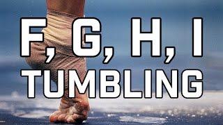 F, G, H & I Tumbling on Floor (CoP 2017-20)