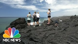 Safety Concerns Rise As Visitors Flock To See Lava Flow In Hawaii   NBC News