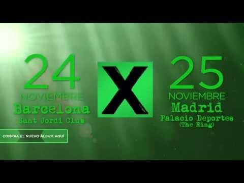 Baixar Ed Sheeran 1 - Conciertos en Noviembre en Barcelona y Madrid