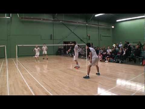 Black Knight British Columbia Junior Elite U19 Doubles Finals Badminton