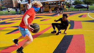 I Broke His ANKLES... BAD... 5v5 Basketball In DC!