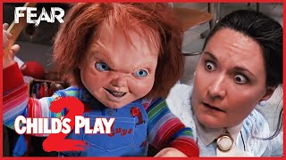 Chucky Teaches Miss Kettlewell A Lesson | Child's Play 2