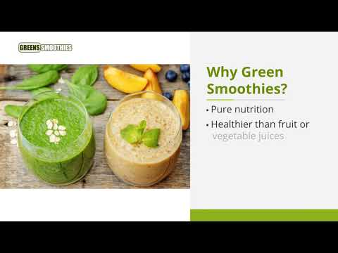 Find Delicious Green Smoothie Recipes - Greens Smoothies