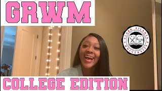 GWRM:College Edition (Get Ready with me for my late classes)