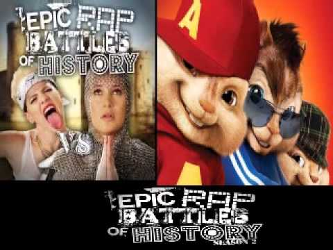 Baixar Miley Cyrus vs Joan of Arc. Epic Rap Battles of History Season 3. CHIPMUNKS / CHIPETTES version