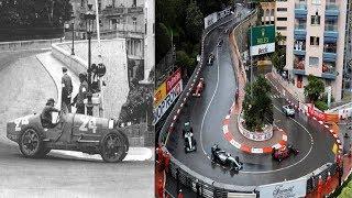 The Evolution/History of the Monaco Grand Prix