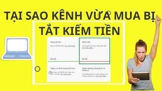 Tại Sao Kênh Youtube Vừa Mua Vài Ngày Đã Bị Tắt Kiếm Tiền | Duy MKT