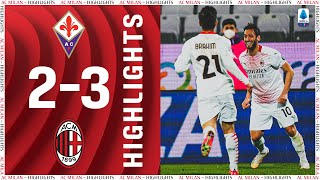 Highlights | Fiorentina 2-3 AC Milan | Matchday 28 Serie A TIM 2020/21