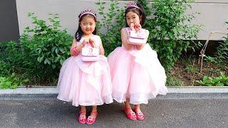 보람이의 공주드레스 메이크업 놀이 Boram and Jane both want the same dress