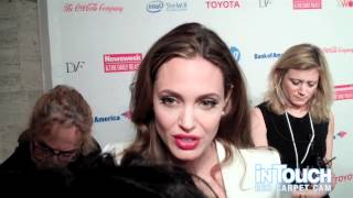 Angelina Jolie At The Women In The World Conference In NYC