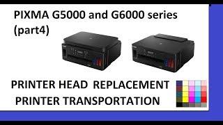 PIXMA G1000 G2000 G3000 Error 5B00 Ink Absorber partial