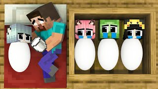 Monster School : Poor Baby Wither but Good and RICH Baby Zombie - Sad Story - Minecraft Animation