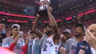 Kawhi Dunks on Giannis! Raptors Advance 1st Finals! 2019 NBA Playoffs