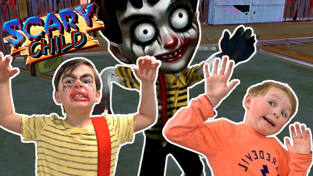 Scary Child 3D Horror Game in Real Life! - Granny Has a Grandson!