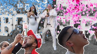 Tio Blends At Bennys and Alondra  gender reveal !!!!!! ( WILD )
