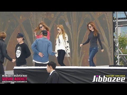 [Fancam] 141003 TaeTiSeo - Holler Rehearsal @ Osong Festival By Soshi-Addict (Jibbazee)