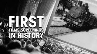 First Films Screenings in History - Lumière Brothers - December 28, 1895