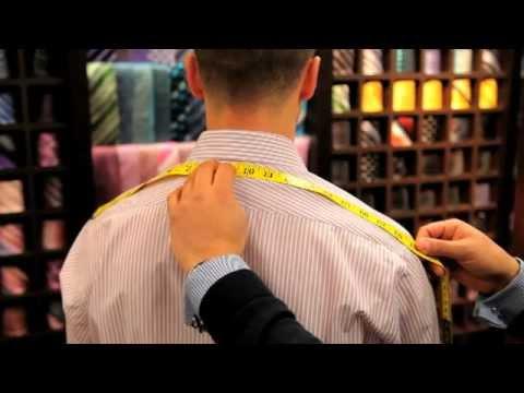 Spier & Mackay {How to measure your shoulders}