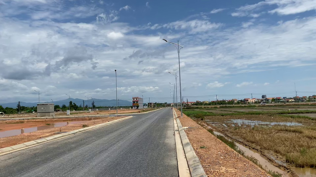 Chính chủ bán đất KĐT Đông Nam Lê Lợi TP Đồng Hới, view công viên, bãi đỗ xe, giá thấp hơn TT 100tr video