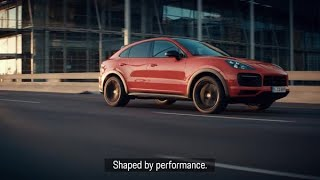 Xander Schauffele and the new Cayenne Coupé. Shaped by performance.