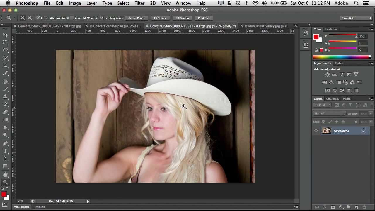 Adobe Photoshop CS6 Трейлър