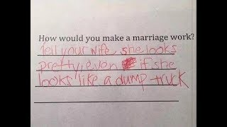 Funniest Kid Test Answer . This will make you Laugh