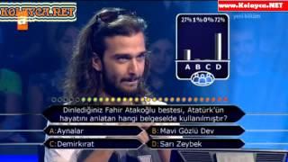 Kim Milyoner Olmak Ister 263. bölüm Burak Mahsun Koşar 23.09.2013