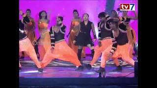 Actress Hebba Patel Stunning Dance Performance in Social Media Summit Awards-2018   tv7 Online