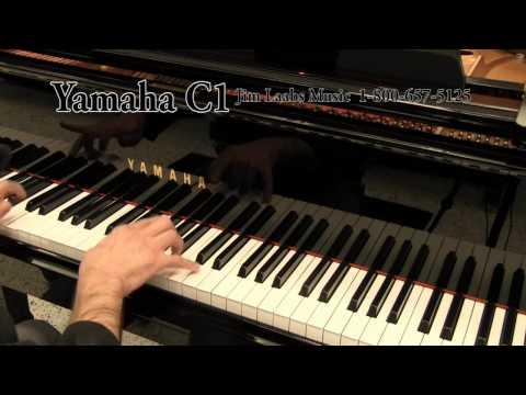 Yamaha c1 grand piano for Yamaha u1 silent piano review