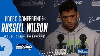 Russell Wilson Wild Card Postgame 2020 Press Conference vs Rams
