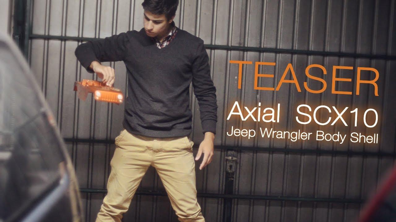 Teaser - Axial SCX10 Jeep Wrangler Body Shell