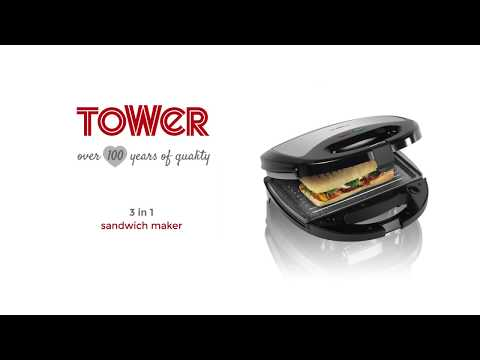 Cerastone 3-in-1 Sandwich Maker