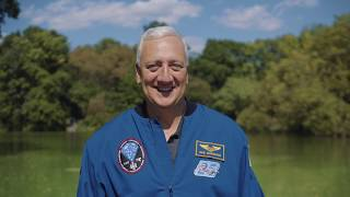 Mike Massimino, a citizen of Earth