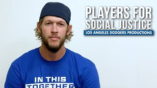 Dodger Players on Social Justice (2020)