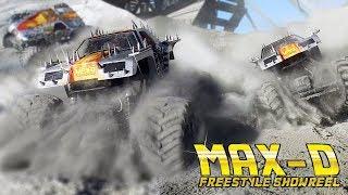 MAX-D MONSTER JAM  FREESTYLE! - Maximum Destruction Axial SMT10