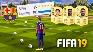 FUT DRAFT vs NEYMAR NO BARCELONA!! FIFA 19