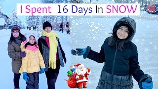 I SPENT 16 DAYS in SNOW in EUROPE   #Vlog #Travel #Vacations #MyMissAnand