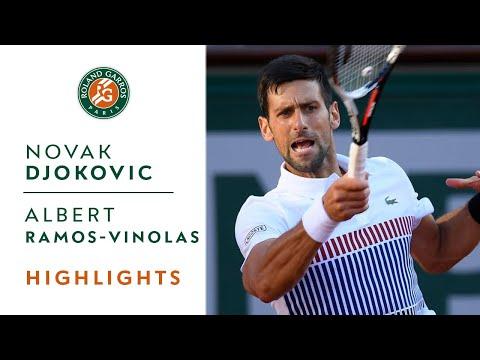 Albert Ramos Vinolas vs Novak Djokovic