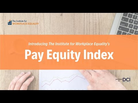 Introducing The Institute for Workplace Equality's Pay Equity Index. The comprehensive index evaluates multiple employment practices that contribute to overall pay equity. Learn more: https://theinstitute4workplaceequality.org/pay-equity-index/