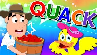 Duck Song   Nursery Rhymes Cartoons For Toddlers by Kids Tv