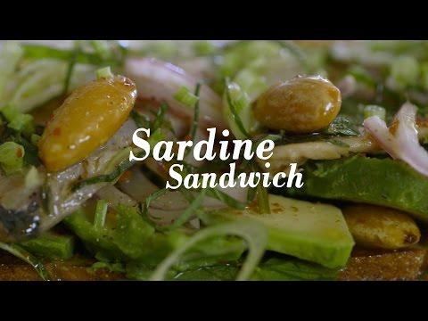 How to Make Gabrielle Hamilton's Sardine Sandwich