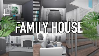 Family House tour!♡ | TWIN'S ROOM REVEAL | Roblox Bloxburg | Arabellaa