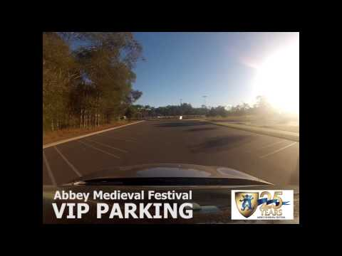 VIP Parking - Abbey Medieval Festival 2014