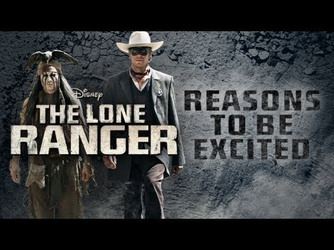 Reasons To Be Excited - The Lone Ranger (2013) - Johnny Depp, Armie Hammer Movie HD