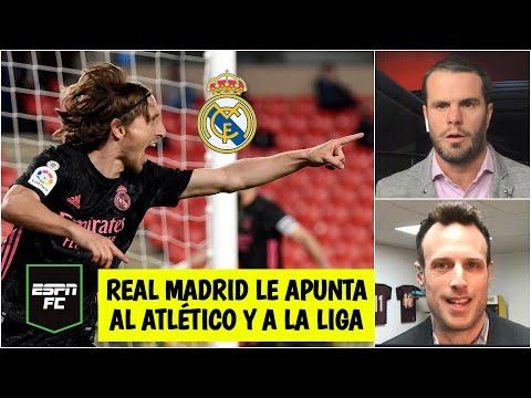 ANÁLISIS Real Madrid GANÓ y le mete presión al Atlético de Madrid. ¿Le ganará La Liga?   ESPN FC
