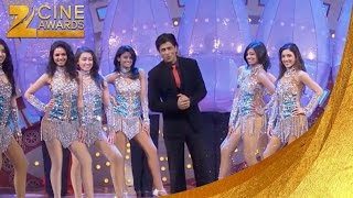 Zee Cine Awards 2012 SRK & Pc Funny Ra One Movie