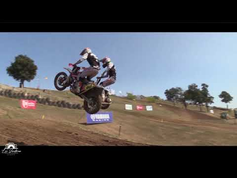 French championship sidecarcross Saint Jean D,angely